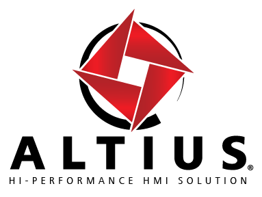 "ALTIUS ""Hi-Performance HMI Solution"""